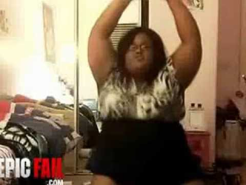 big girl webcam  dance