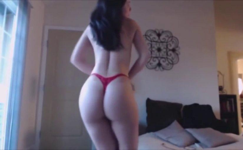 Hot brunette woman dance strip tease 2017 #1