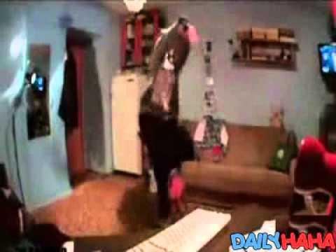 Webcam Dance Surprise Ending