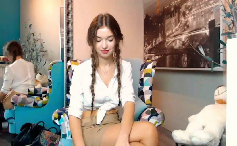 webcam girl YouTube 7654332