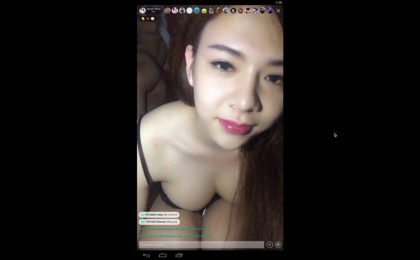 Em gái Việt show Bụp trên Bigo Live Cam show (video 02)